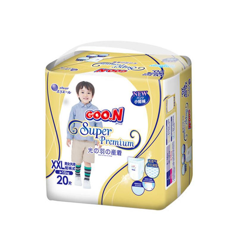 【国内贸易】日本 GOO.N大王 光羽系列拉拉裤 XXL20 6包/箱