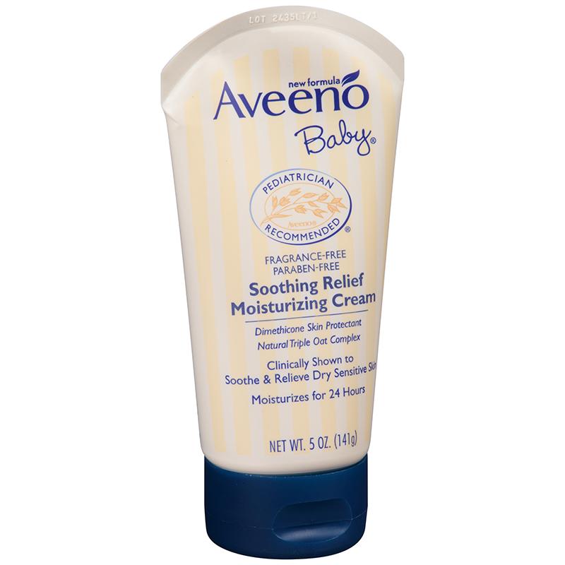Aveeno Baby 美国 艾维诺 天然燕麦舒缓保湿霜(深蓝)新版 141g