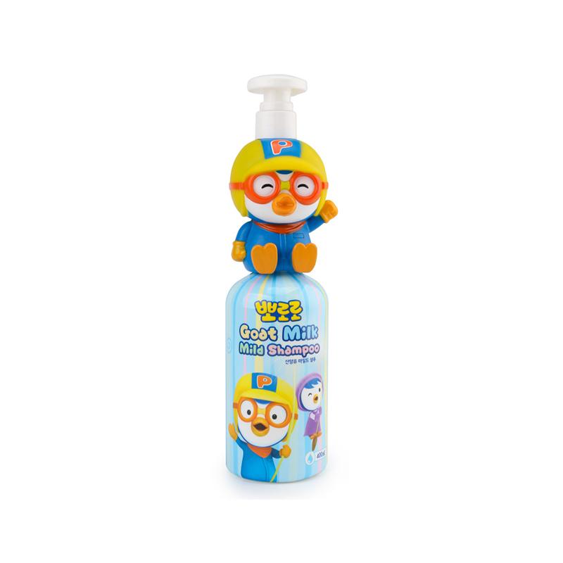 【一般贸易】Pororo 韩国 啵乐乐儿童山羊奶洗发水 啵乐乐款400ml