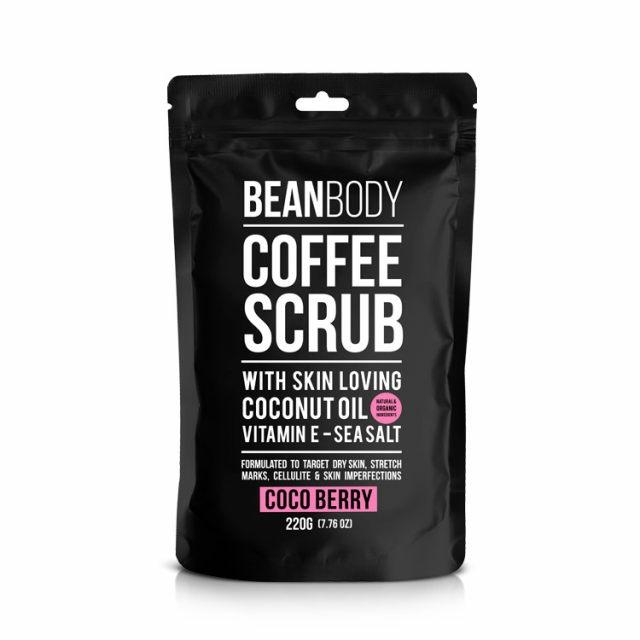 【一般贸易】澳洲Bean Body可可果咖啡身体磨砂膏(美白晒后修复润体)220g