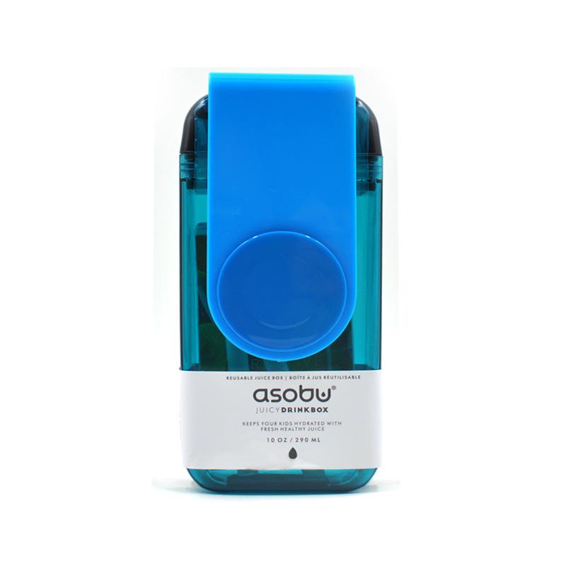 Asobu 加拿大 儿童果饮杯(新款)290ml-蓝色