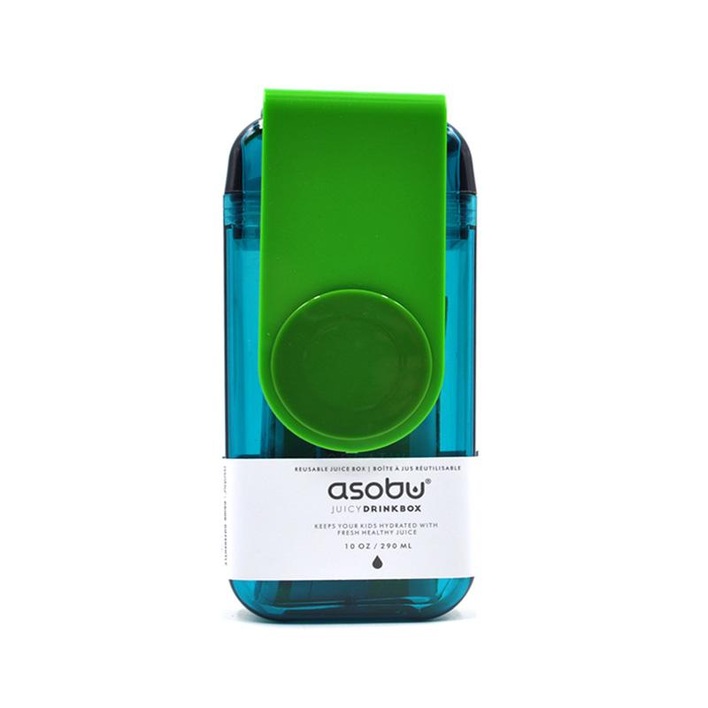 Asobu 加拿大 儿童果饮杯(新款)290ml-绿色