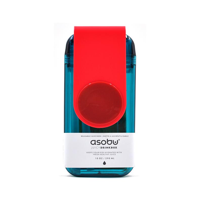 Asobu 加拿大 儿童果饮杯(新款)290ml-红色