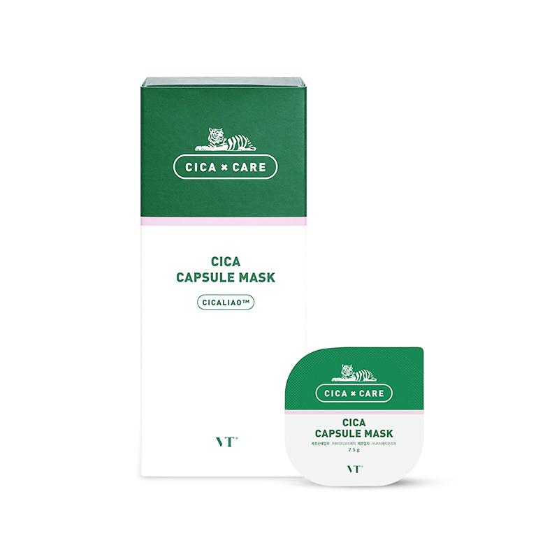 【一般贸易】韩国VT Cosmetics 范特CICA积雪草 小布丁涂抹面膜 10个/盒