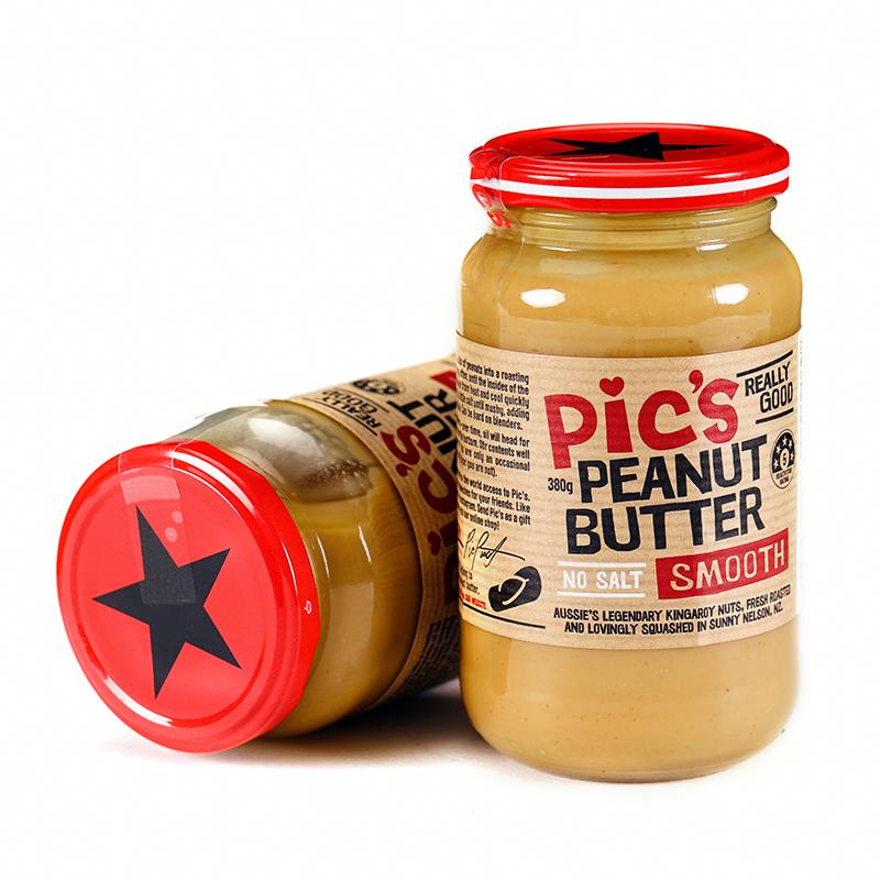 【一般贸易】新西兰 Pic's皮卡思 幼滑花生酱380g(无添加盐)