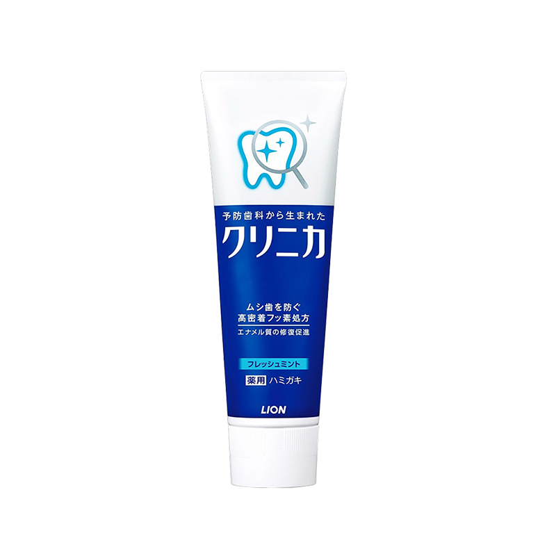【一般贸易】Lion日本狮王酵素牙膏 (清新薄荷)  130g/支