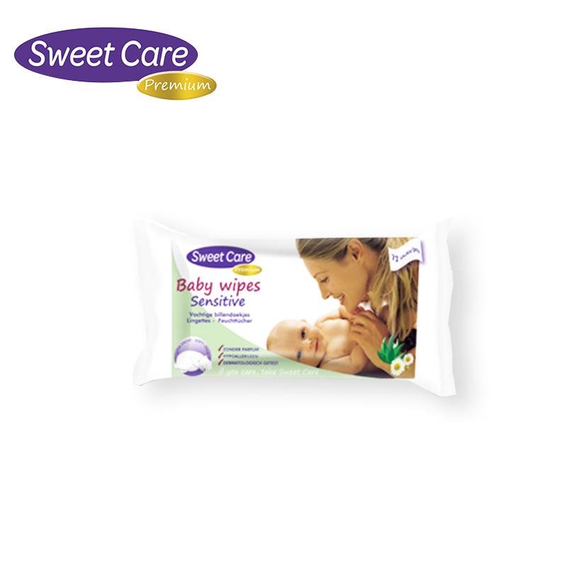 【一般贸易】荷兰 SweetCare苏维可 湿纸巾 72抽(无香型)