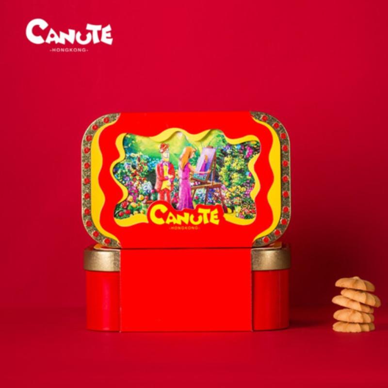 【一般贸易】中国香港 Canute克努特 牛奶草莓曲奇 178g